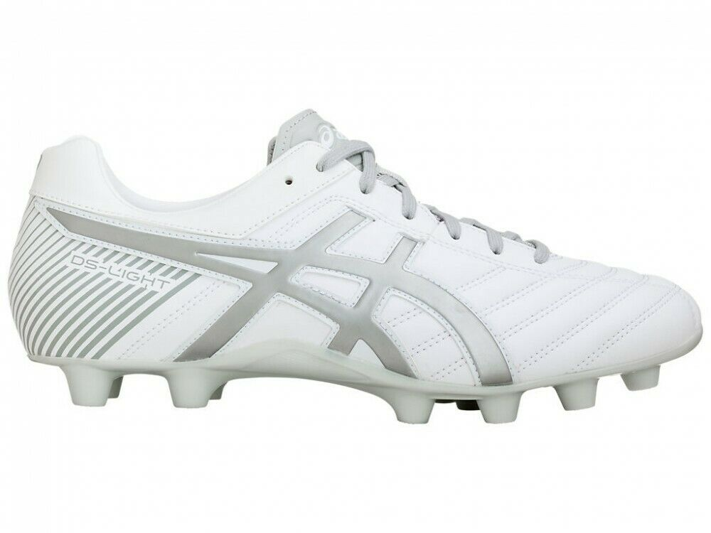 Zapatillas Asics fútbol Spike DS Light WB 2 TSI754 blancoo gris Suave