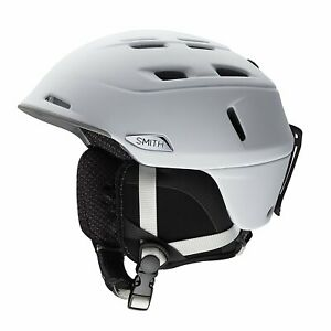 Smith Optics Camber Asian Fit Adult Snow Sports Helmet Matte White Large 63-67cm