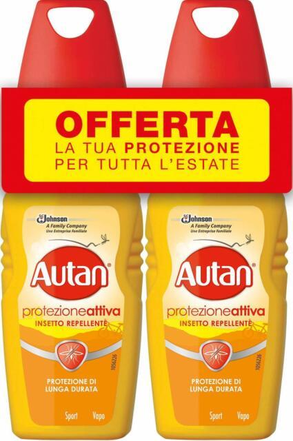 Autan Protezione Attiva Bipacco 2x100 ml