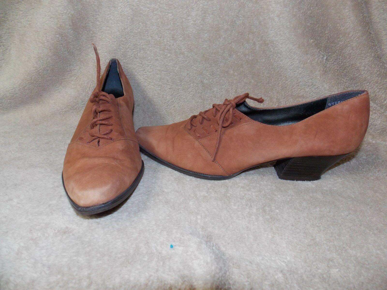Nicole RUST Retro Grany Boho Low Heels 9M Used