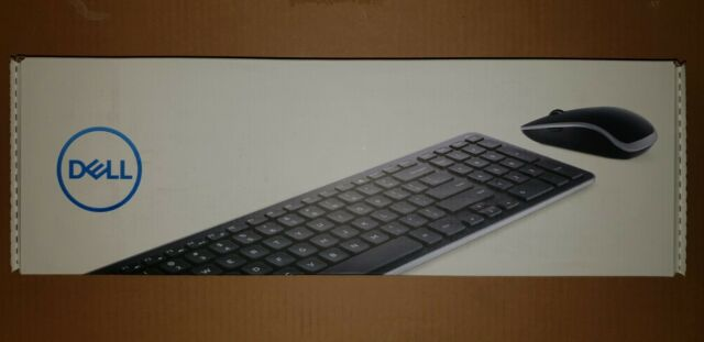 Brand new - slim DELL Keyboard (US) & Mouse - Universal receiver