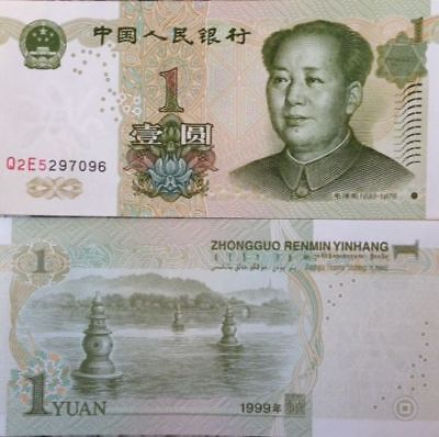 SET OF 3PCS CHINA 1 5 10 YUAN,/> MAO TSE-TUNG,1999~2005,P-895 903 904,GEM UNC