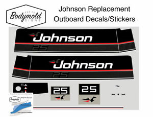 Johnson-25hp-Replacement-Outboard-Decals-stickers