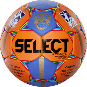 SELECT-Handball-Ultimate-Elite-Replica-Rainbow-LiquiMoly-HBL-Groesse-1-NEU