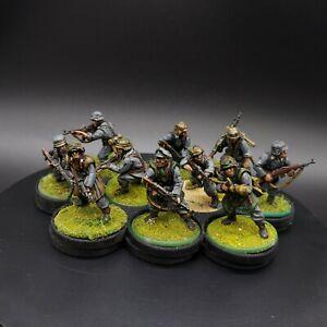 Painted-28mm-Bolt-Action-german-infantry-grenadier-squad-1-10-men-Ww2