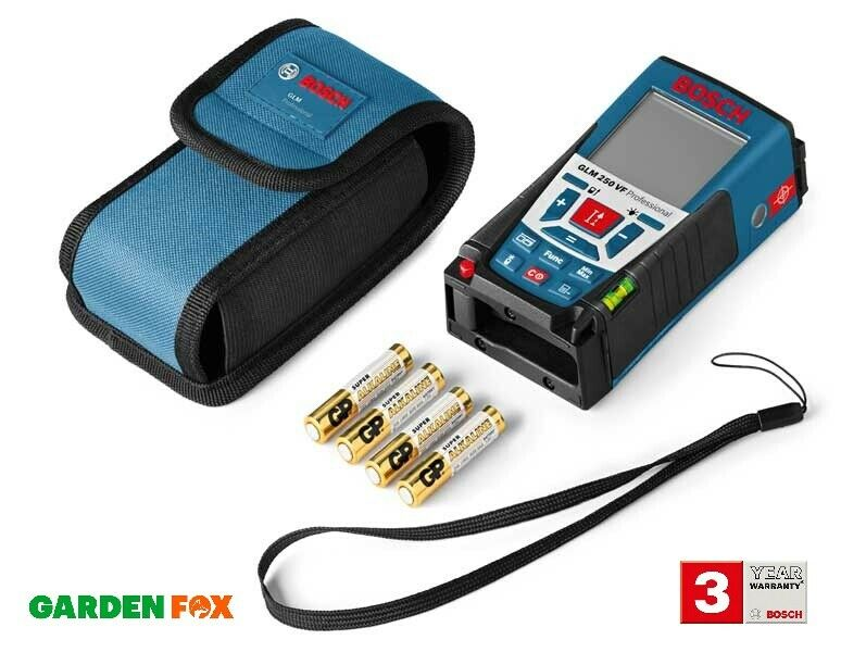 Savers - Bosch GLM 250 VF PRO Laser Range Finder 0601072170 3165140547994 D2