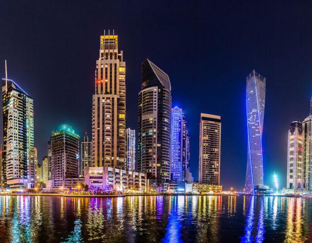 Glasbild Glasdruck 1006-1-GB Motiv Dubai Blickfänger für Ihr Büro oder Wohnräume