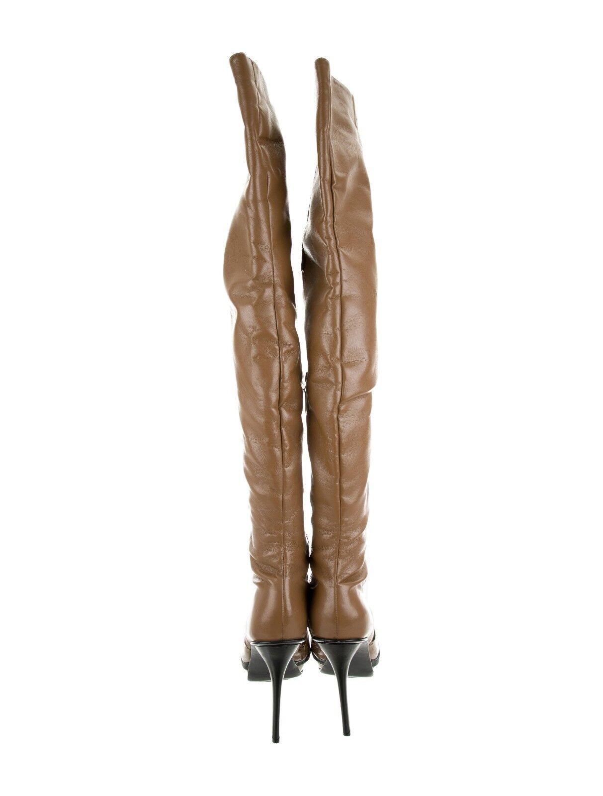 10 Alexandre Birman de plataforma over-the-la rodilla botas de cuero, 1 de Birman un tipo, Agotado c706a9