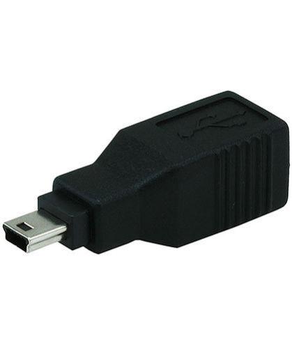 USB 2.0 Type B Female to USB Mini B 5 pin Male Converter Adapter Camera Phone
