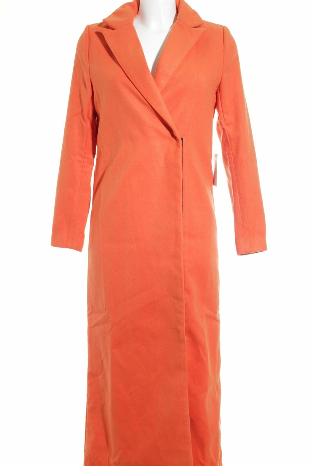Wollmantel Orange Business-Look Damen Gr. DE 36 Mantel Mantel Mantel Coat Wool Coat | Modisch