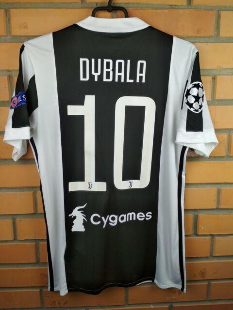 online store fb922 6b7be Dybala Juventus jersey small 2017 2018 home shirt BQ4533 soccer football  Adidas