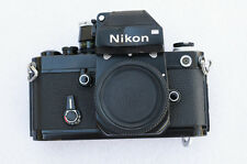 Nikon F2 SLR Film Camera Body Photomic w/ DP1 Viewfinder - Bad Meter