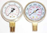 2 Oxygen Regulator Gauge Set For Victor Or Harris