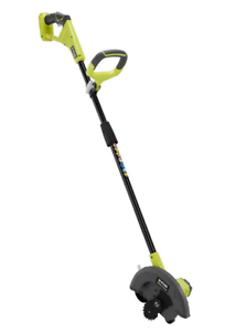 RYOBI ONE+ 9 in. 18-Volt Lithium-Ion Cordless Battery Edger (Tool Only)