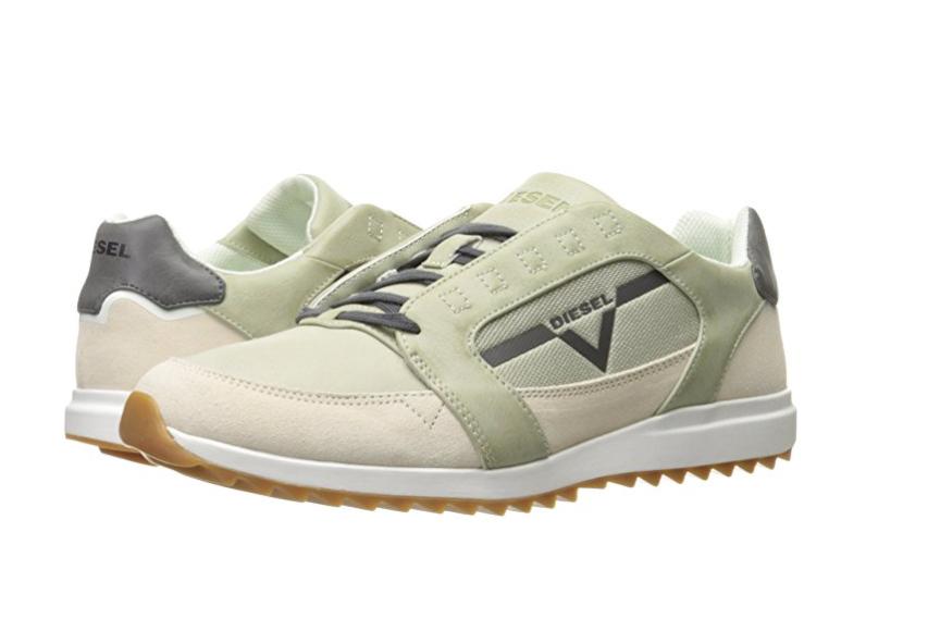 DIESEL Y01461 P1190 H6206 V- STAFFETTA S-FLEETT Mn's (M) Ice Suede Casual shoes