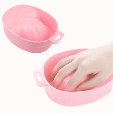 Portable Nail Art Hand Wash Remover Soak Bowl Spa Bath Treatment Manicure Tool