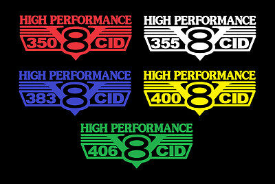 305SS Bedside Decals Tailgate Decal Set