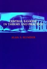 Central Banking in Theory and Practice (Lionel Robbins Lectures) by Blinder, Al