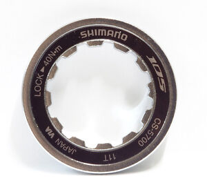 Cassettes, Freewheels & Cogs Nice New Shimano 105 Cs-5700 Lock Ring For 11t