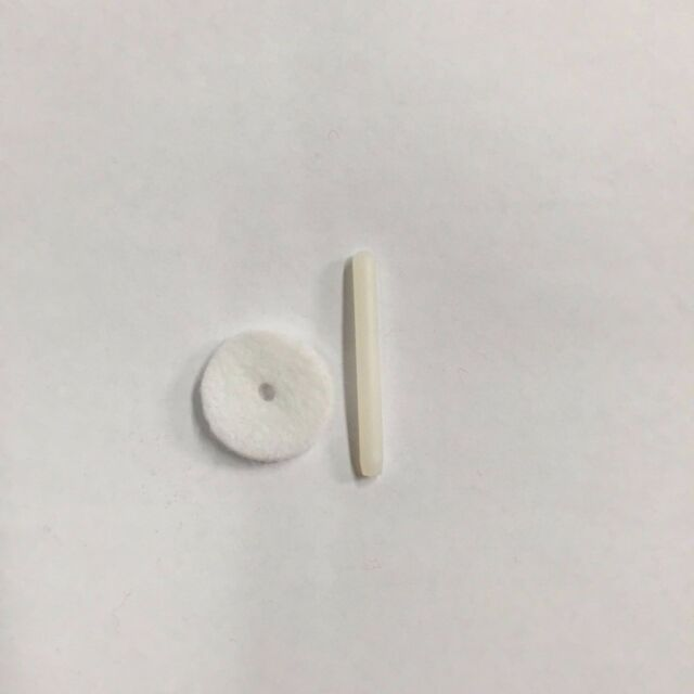 plastic Sewing Machine SPOOL PIN 328 free pin felt Singer 99K #172007 327