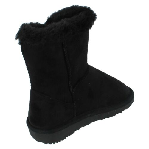 Girls X4007 Textile Pull On Boot By Spot On £5.99
