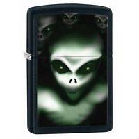 Zippo 28863 Aliens Black Matte Finish Full Size Lighter