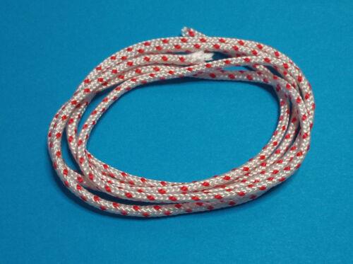 1m Starter Anlasser Seil 3 mm passend für Motorsägen Trimmer Stihl Echo u a.
