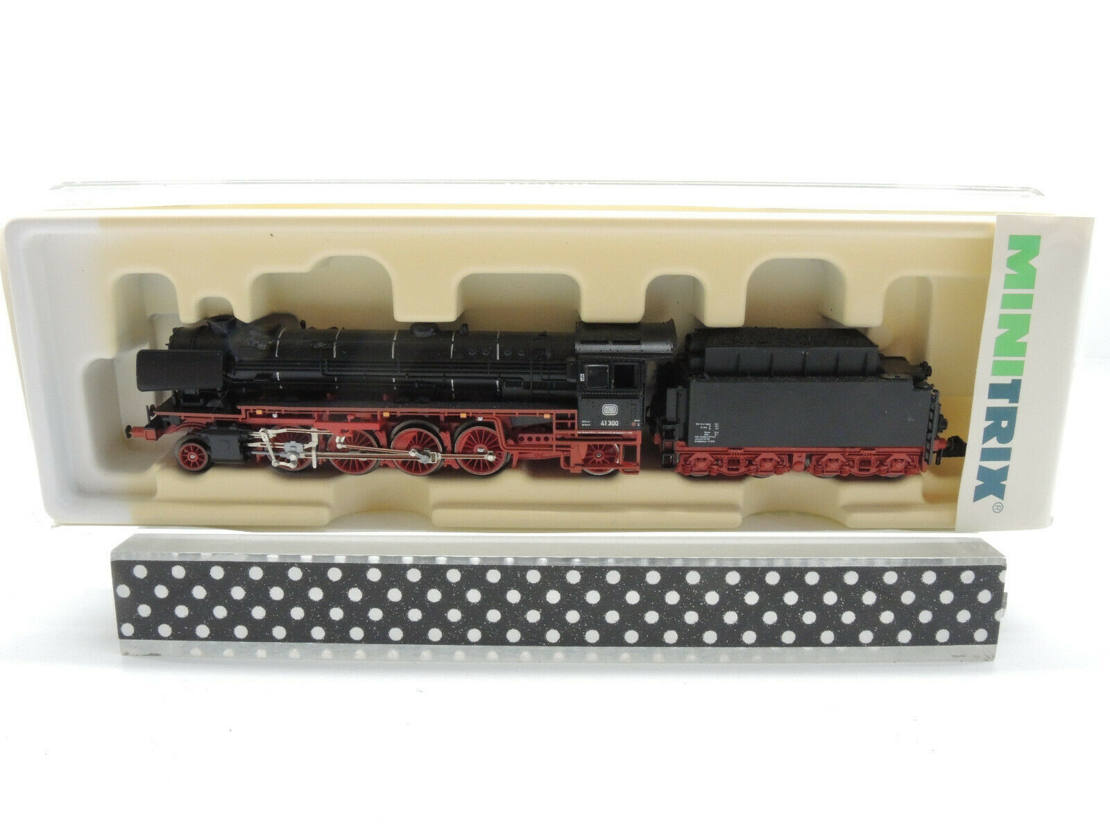 Minitrix 12610 máquina de vapor, schlepptenderlok br 41 300 de la DB, muy bien OVP