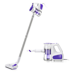 2-in-1 Vacuum Cleaner 600W Hand Held Upright Stick Bagless Corded Kit PUPPYOO
