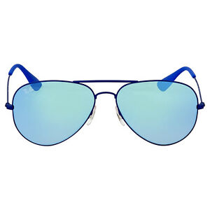 ray ban aviator azul degradado