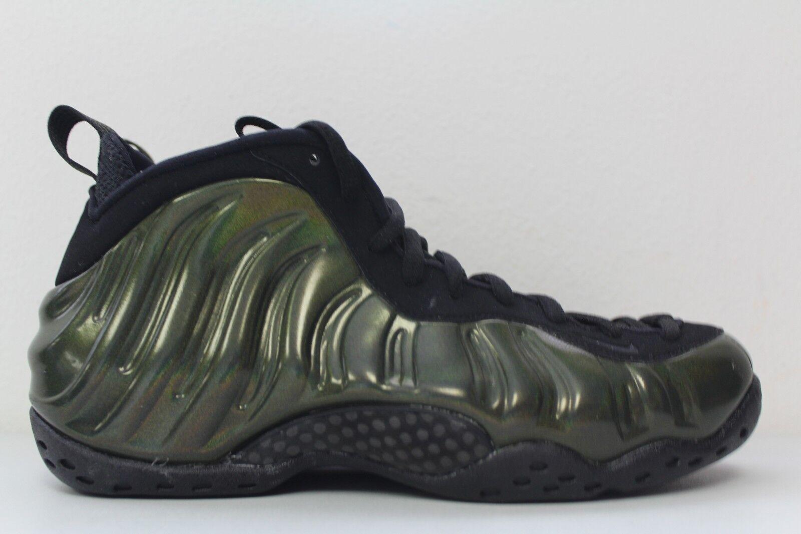 Nike Mens Air Foamposite One Legion Green Black Black Black 314996 301 Size 11.5 38c529