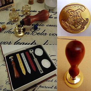 Harry-Potter-Hogwarts-Wachs-Siegel-Stempel-Siegellack-Wax-Seal-Stamp-Set