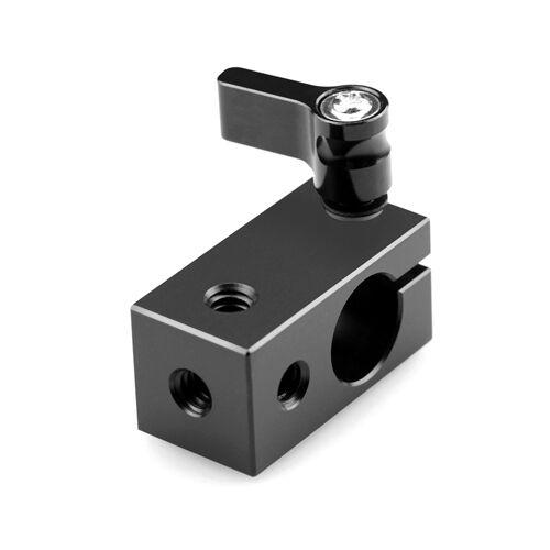 SmallRig Aluminum 15MM Single Rod Clamp RailBlock fr DSLR Support Rail System