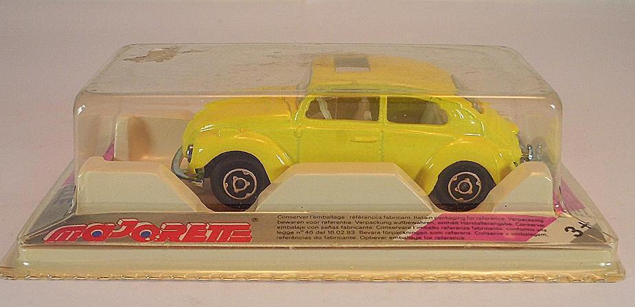 Majorette 1 60 nº 202 203 VW volkswagen 1302 escarabajo Beetle giallo OVP