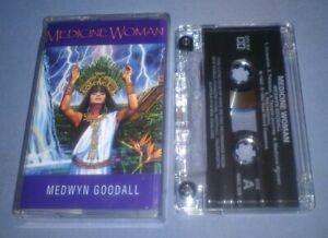 MEDWYN-GOODALL-MEDICINE-WOMAN-cassette-tape-album-T6039