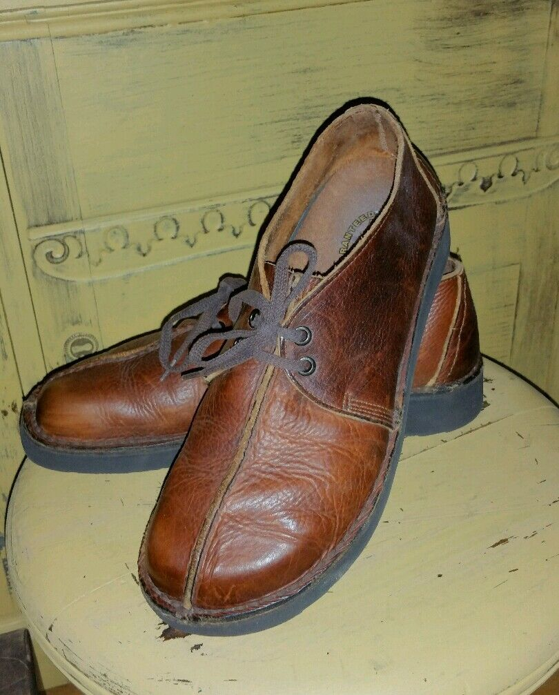 DEXTER LEATHER WATERPROOF HAND SEWN OXFORDS CASUAL BROGUES ANKLE BOOTS 9 M MOC