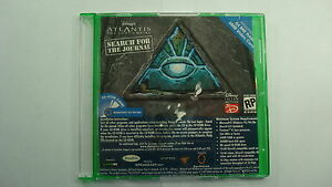 Disney-Atlantis-The-Lost-Empire-Search-For-the-Journal-Interactive-Cd-Rom-Game