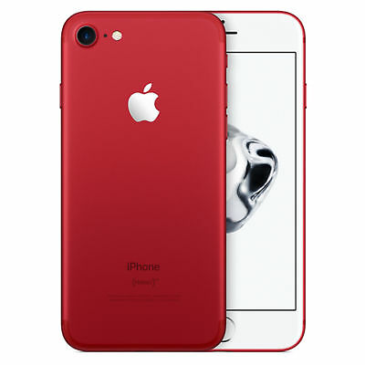 Apple iPhone 7 128GB Unlocked GSM Quad-Core Phone w/ 12MP Camera - Red