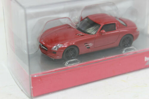 Herpa 430784 Mercedes Benz SLS AMG Le Mans  rot  1:87 NEU in OVP