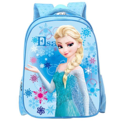 Kids Boys Girls SUPERHERO FROZEN Character Backpack Rucksack Children School Bag