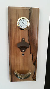 Deluxe-Wall-Mounted-Magnetic-Bottle-Top-Opener-Time-Piece-Beer-Christmas-Xmas