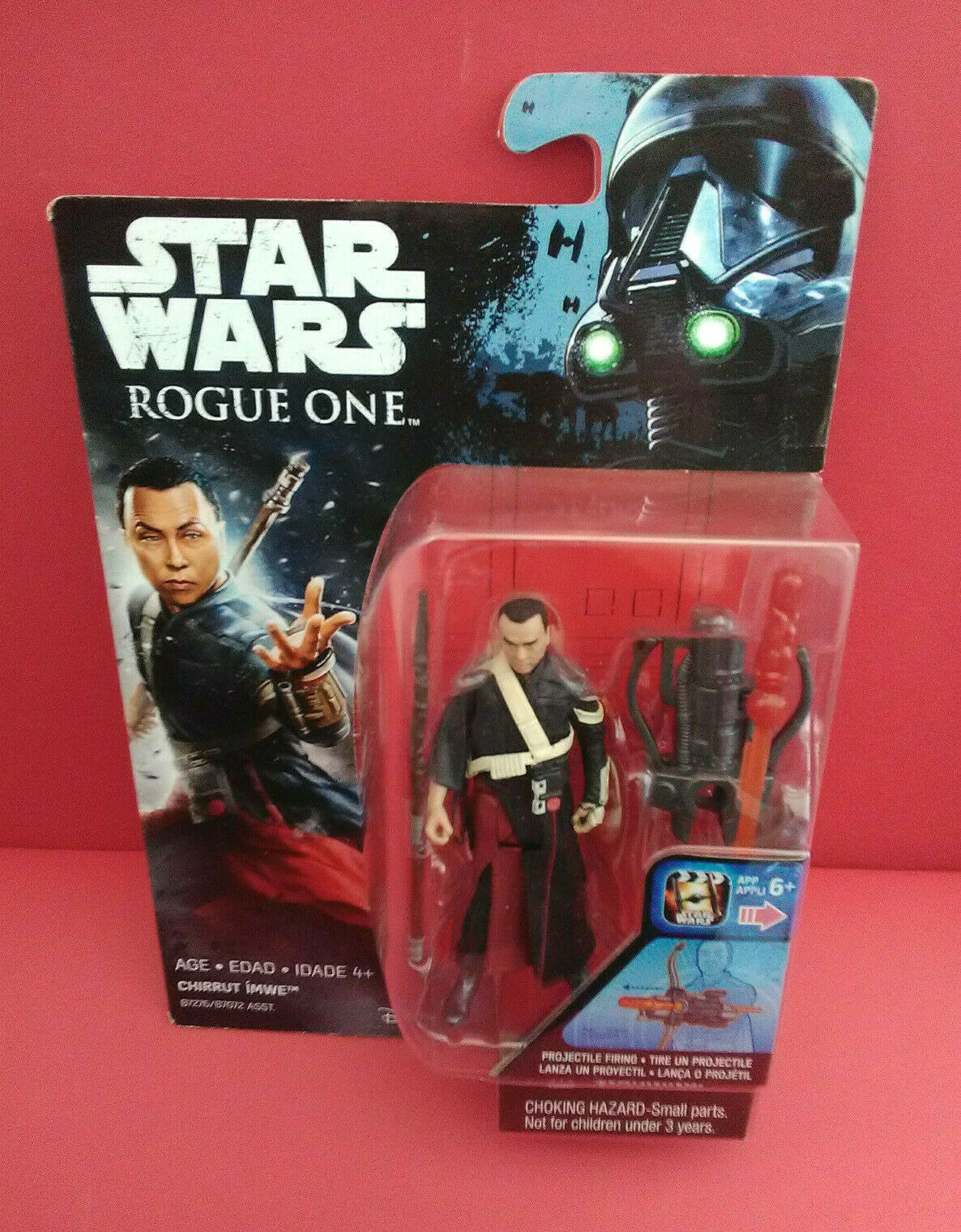 StarWars collection : STAR WARS - CHIRRUT IMWE - ROGUE ONE - 2016 - FIGURINE 10 CM - R 6667