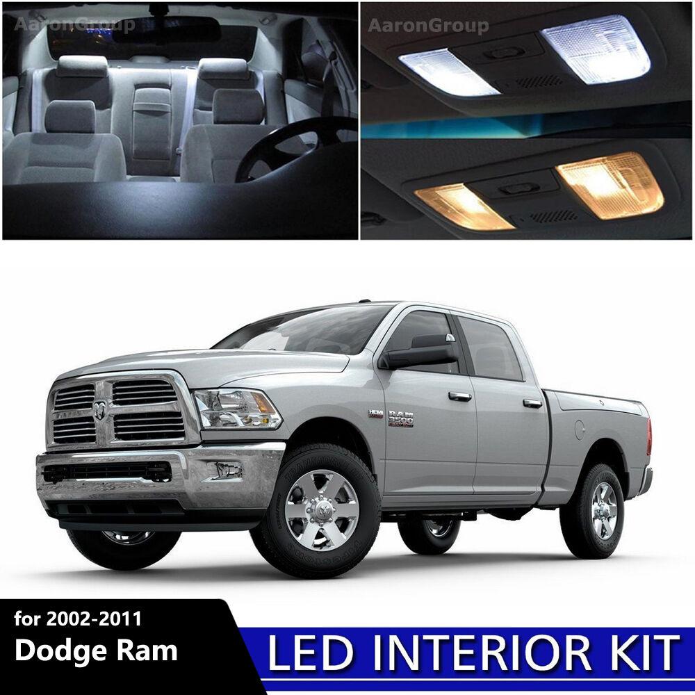 2011 Chevrolet Express 3500 Cargo Interior: 11PCS White Interior LED Light Package For 2002