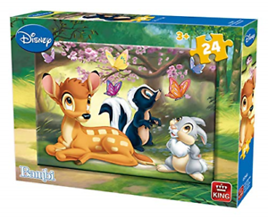 King Puzzles Disney 24 Piece Jigsaw Puzzle - Bambi  KNG05256