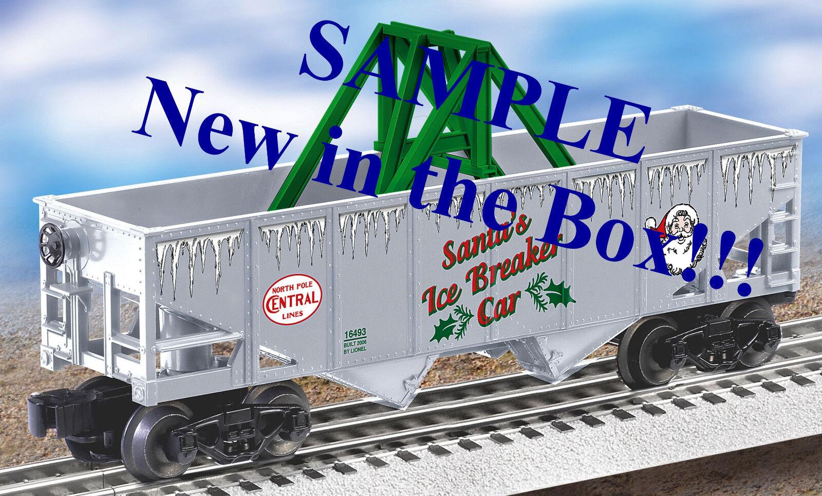 Lionel Christmas Ice Breaker Tunnel Car o gauge train holiday 6-16493 NIB NR alt