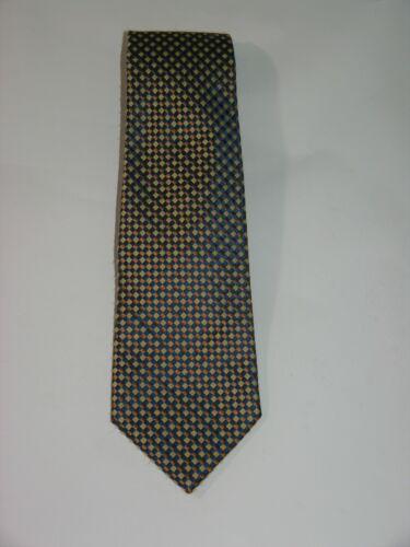 Charvet Wide Lattice Checked Silk Tie