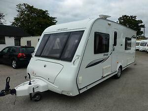 2009-Compass-Omega-540-4-Berth-Fixed-Bed-End-Washroom-Touring-Caravan