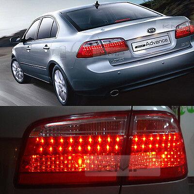 For KIA 2007 - 2010 Optima Lotze OEM Genuine LED Front Taillamp Light Lamp L+R