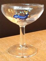 BABYCHAM LIMITED EDITION 60th ANNIVERSARY SET OF 2 GLASSES NEW COLLECTIBLE
