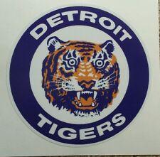 "Detroit Tigers Vintage Logo Vinyl Car Truck Window Decal Sticker 6"""